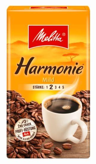 Melitta Kaffee Harmonie mild 500 gr. gemahlen