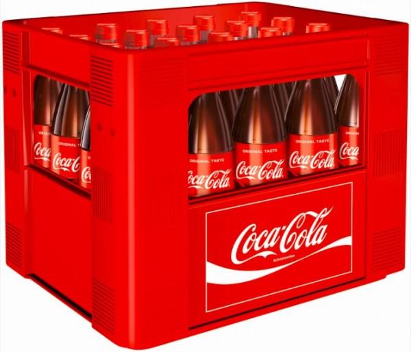 Coca Cola 20x0,5 Glasfl. Mehrweg (D)