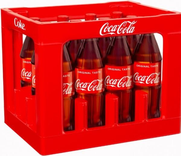 Coca Cola 12x1,0 PET Mehrweg (D)