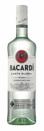 Bacardi Carta Blanca 37,5% 0.7 Einweg