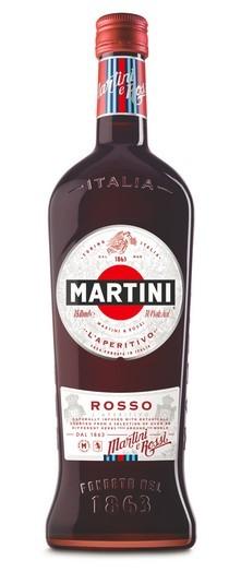 Martini Rosso Vermouth Aperitif 14,4% 0,75 Einweg