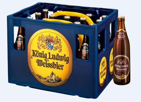 König Ludwig Weissbier dunkel 20x0,5 Mehrweg