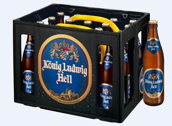 König Ludwig Hell 20x0,5 Mehrweg