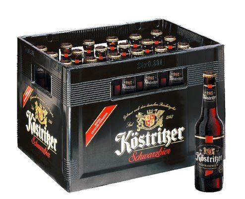 Köstritzer Schwarzbier 24x0,33 Mehrweg