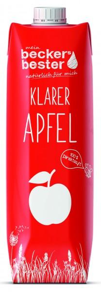 Becker's bester Apfel klar 1,0 Tetrapak Einweg