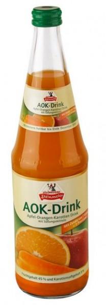 Steinmeier AOK Apfel-Orange-Karotten-Saft 12x0,7 Mehrweg