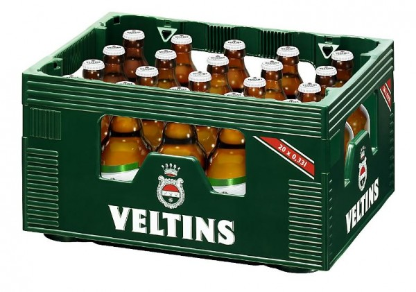 Veltins Pils Steini Designflasche 20x0,33 Mehrweg