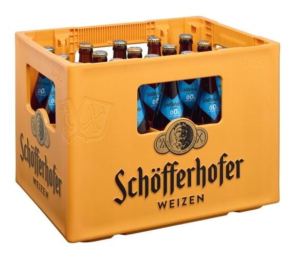Schöfferhofer Weizen 0,0% 20x0,5 Mehrweg