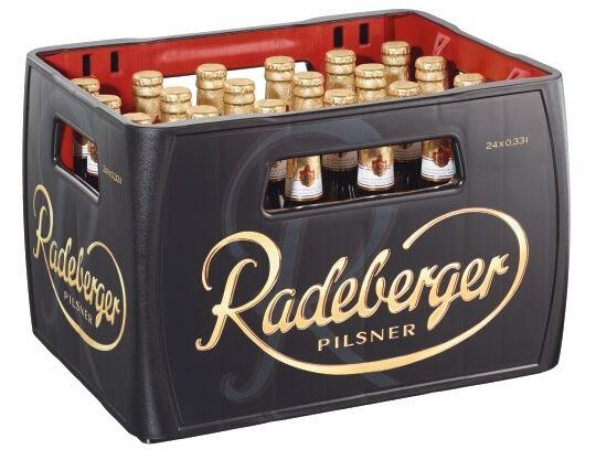Radeberger Pilsener 24x0,33 Mehrweg (D)