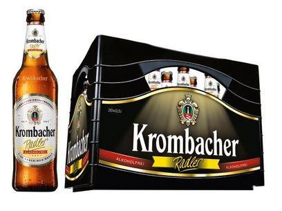 Krombacher Radler alkoholfrei 24x0,33 Mehrweg