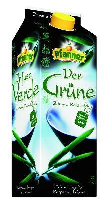 Pfanner Der Grüne IceTea Zitrone-Kaktusfeige 6x2,0 Einweg