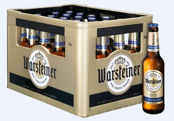 Warsteiner alkoholfrei 24x0,33 Mehrweg