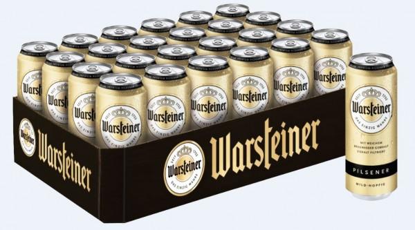Warsteiner Premium Verum 24x0,5 Dose Einweg
