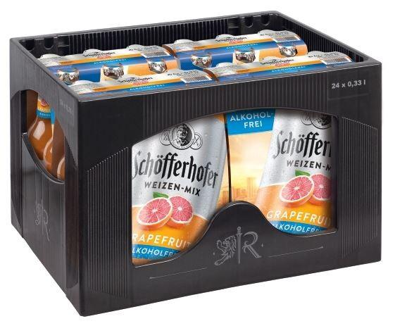Schöfferhofer Grapefruit alkoholfrei 24x0,33 Mehrweg