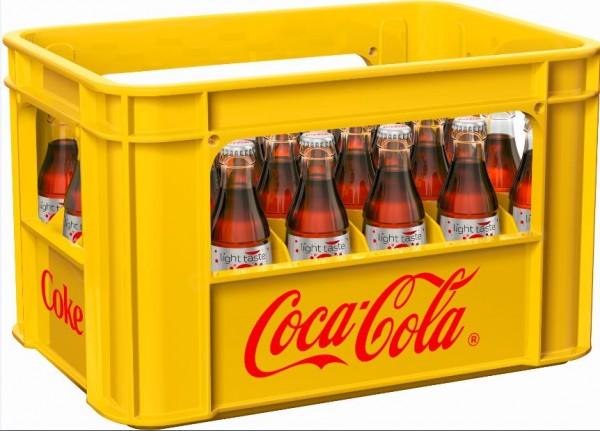 Coca Cola light 24x0,2 Mehrweg (D)