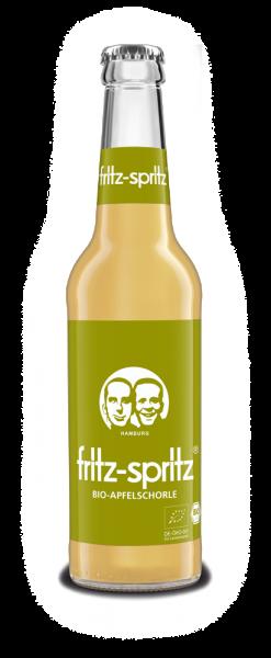 fritz spritz Bio-Apfelsaftschorle 24x0,33 Mehrweg (D)