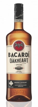 Bacardi Oakheart 35% 0.7 Einweg