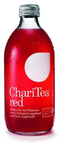 ChariTea Red Rooibos Fairtrade Bio Tee 20x0,33 Einweg