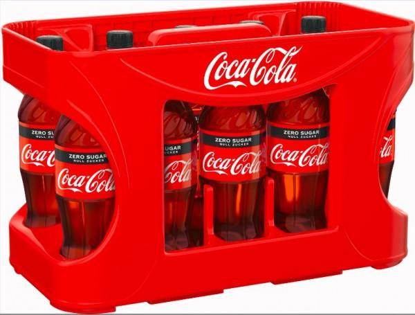 Coca Cola Zero 12x0.5 PET Einweg