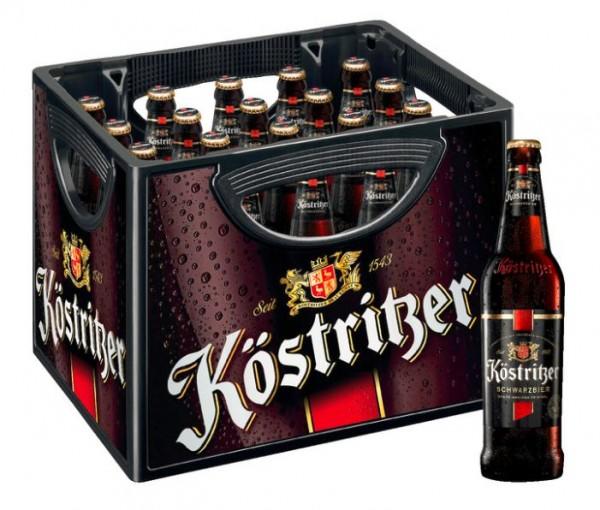 Köstritzer Schwarzbier 20x0,5 Mehrweg