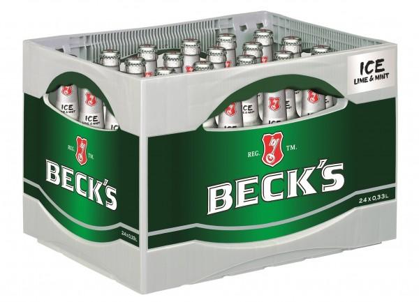Beck's Ice 24x0,33 Mehrweg