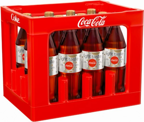 Coca Cola light koffeinfrei 12x1,0 PET Mehrweg
