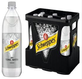 Schweppes Dry Tonic Water 6x1,0 PET Mehrweg