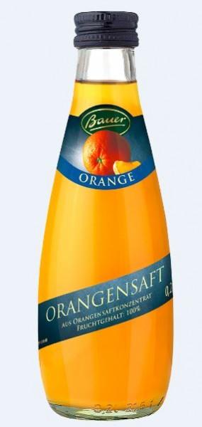 Bauer Orange 24x0,2 Mehrweg