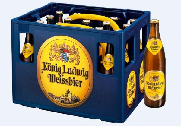 König Ludwig Weissbier hell 20x0,5 Mehrweg