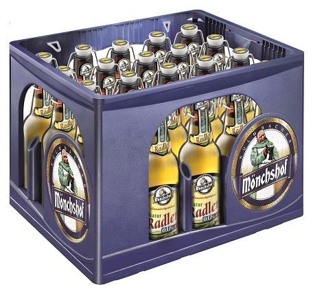 Mönchshof Natur Radler alkoholfrei 0,0% 20x0,5 Mehrweg (B)