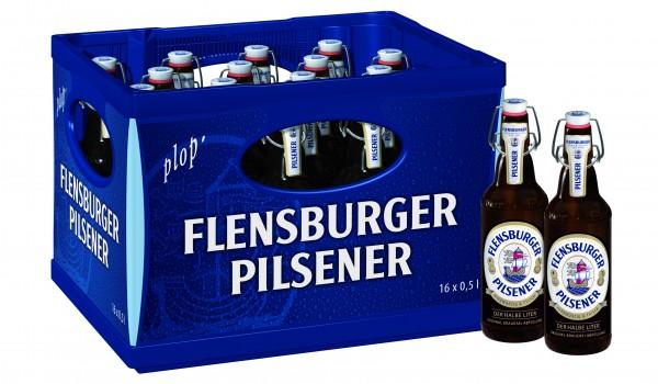 Flensburger Pilsener 16x0,5 Mehrweg