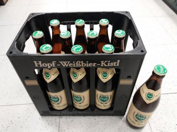 Hopf Hefe hell 10x0,5 Mehrweg