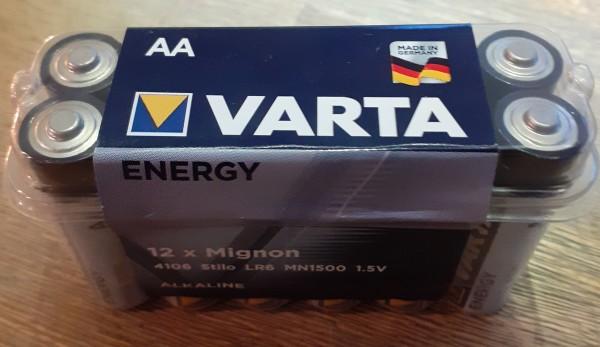 VARTA Batterien AA 1x12 Stück
