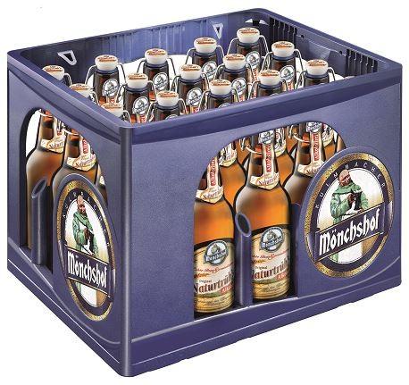 Mönchshof Natürtrübs alkoholfrei 20x0,5 Mehrweg