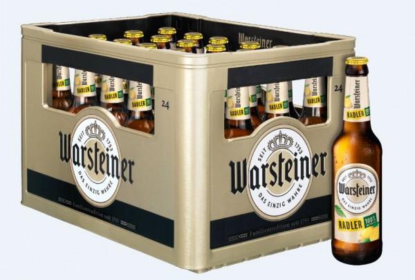 Warsteiner Radler Zitrone 24x0,33 Mehrweg