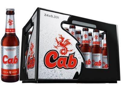 cab Cola & Beer 24x0,33 Mehrweg