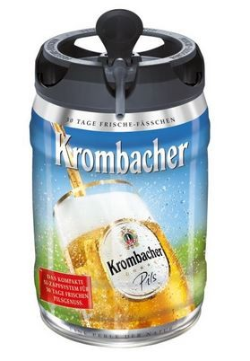 Krombacher Pils 5 ltr. Easy Zapf Einweg