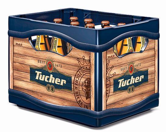Tucher Urbräu Nürnberger hell 20x0,5 Mehrweg