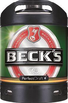 Beck's Pils 6 ltr. Perfect Draft Mehrweg