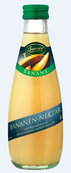 Bauer Banane 24x0,2 Mehrweg