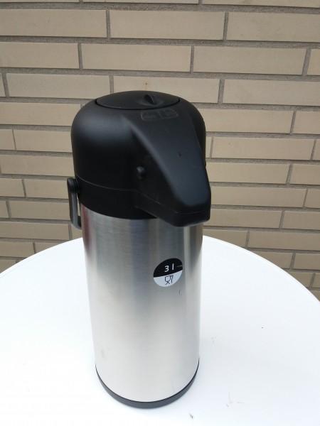 Miet-Isolierkanne 3ltr. mit Pumpe Selbstabholung
