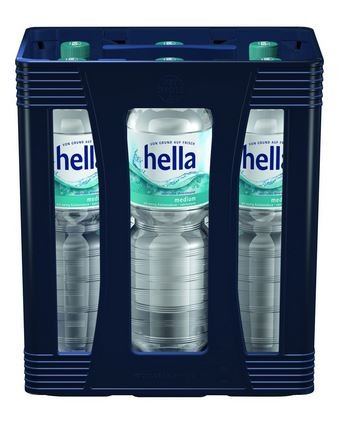 Hella medium 6x1,5 PET Einweg Kasten (M)