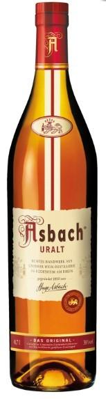 Asbach Uralt 38% 0.7 Einweg
