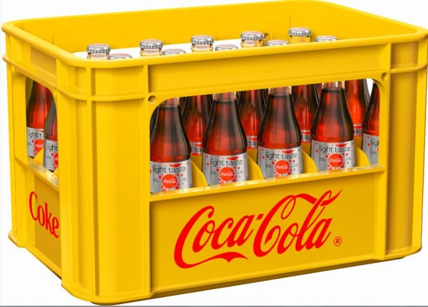 Coca Cola light 24x0,33 Mehrweg (D)
