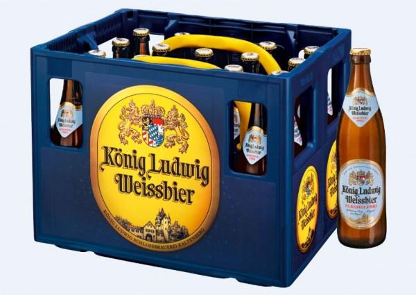 König Ludwig Weissbier alkoholfrei 20x0,5 Mehrweg