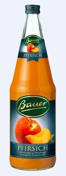 Bauer Pfirsich 6x1,0 Mehrweg