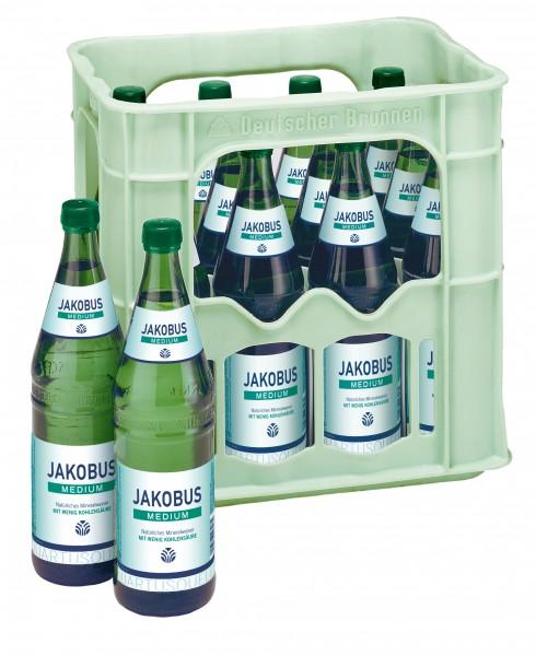 Jakobus medium 12x0,75 Glasfl. Mehrweg (D)
