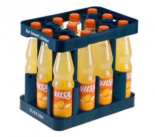 Vilsa Orange 12x0,5 PET Mehrweg