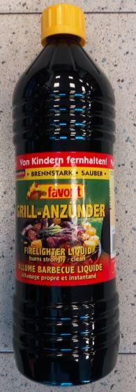 Favorit Grillanzünder flüssig 1,0 ltr.