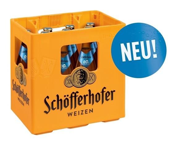 Schöfferhofer Weizen 0,0% 11x0,5 Mehrweg
